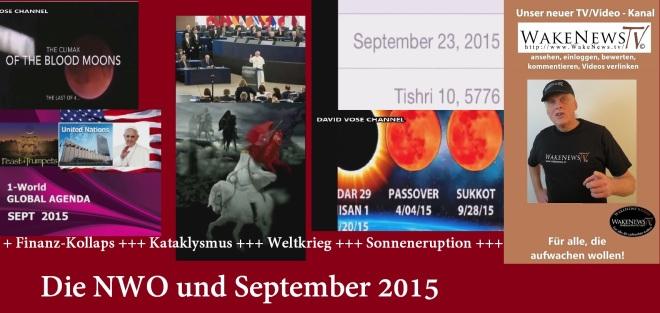Die NWO und September 2015
