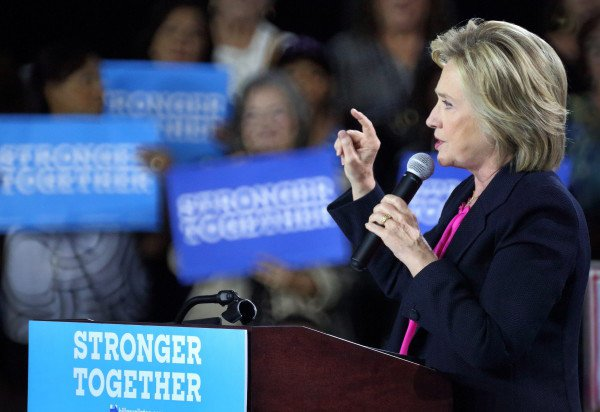 Hillary Clinton im Wahlkampf. (Foto: dpa)