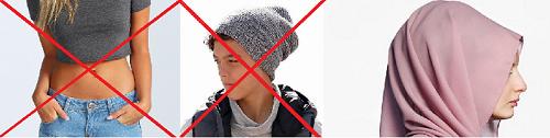 Immer mehr Schulen verbieten deutschen Kindern kurze Kleidung und Mützen, erlauben Muslimen aberKopftuch