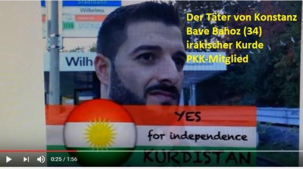 Rozaba S. (Bave Bahoz, 34) der Todesschütze von der Disco Grey in Konstanz – kein Allahu Akbar aber PKKTerror!
